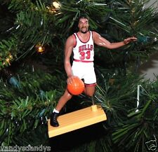 scottie PIPPEN chicago BULLS basketball NBA xmas TREE ornament HOLIDAY jersey