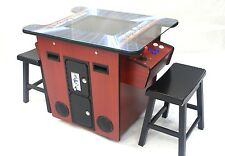 Arcade Cocktail Table 412 Classic80' Game in One Unit in Cherry