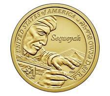 2017 P $1 Native American - Sequoyah - Pos A - BU