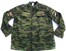 Russian Army Spetsnaz Camo Uniform Suit FLORA Patches Sewn PANTHER