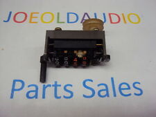 Technics RS-858US Quad 8 Track Recorder Tape Counter Mechanism. Parting Out 858