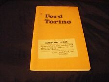 NOS  1974 Ford Torino  Original  Owners  Manual