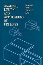 Analysis, Design and Applications of Fin Lines (Artech House Microwave Library)