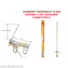 Diamond X-50N Antenna bibanda 144/430 MHz da base