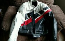 Yamaha leather motorcycle jacket