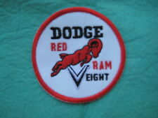 "Dodge Red Ram V Eight Racing Patch 3"" X 3 """