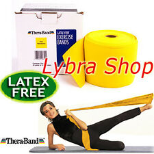 TheraBand FASCIA ELASTICA LATEX FREE 2,5 mt GIALLO (Sottile) Banda Thera-Band