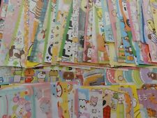 Lot 90 cute kawaii memo note paper stationery japanese crux q-lia kamio san-x