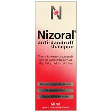 Multibuy 3x Nizoral ANTI la forfora SHAMPOO FRAGRANZA libero 60ml