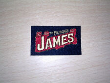 CLASSIC JAMES MOTORCYCLE  EMBROIDERED PATCH-VILLIERS
