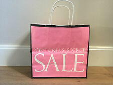 Used - VICTORIA'S SECRET  - bolsa de papel ROSA - PINK Paper bag -