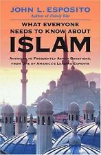 What Everyone Needs to Know about Islam, John L. Esposito, Good Condition, Book