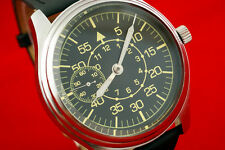Pilots Vintage Russian USSR WAR2 WW2 MILITARY airforce style watch LACO