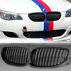 Front Bumper Kidney Sport Grille Grill For BMW E60 E61 5 Series M5 03-09 Black