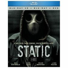 Static 3D BD+DVD Combo 3pk [Blu-ray] by Milo Ventimiglia, Sarah Shahi, William