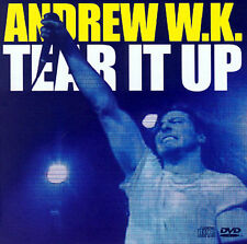 Tear It Up / Your Rules  CD Single & DVD  2003 by Andrew WK