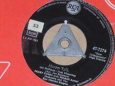 "PERRY COMO WITH MITCHELL AYRES -Moon Talk- 7"" 45"