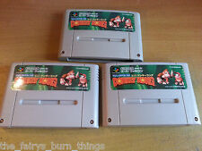 Donkey Kong Country Super Nintendo SNES JP NTSC Buen Estado