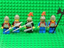 Lego minifigures + weapons Knights castle kingdom 80's 70's vintage EXC cond K09