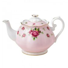 Royal Albert New Country Roses Pink Tea Pot