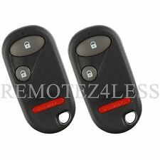 2 Replacement for 2001 02 03 04 05 Honda Civic Keyless Entry Remote Car Key Fob