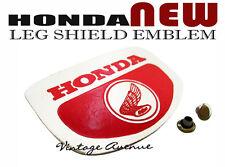 HONDA C100 C102 C105 C50 C65 C70 C90 CM90 CM91 FRONT COVER LEGSHIELD EMBLEM [P]