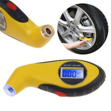For Auto LCD Digital Car Motorcycle Tire Tyre Air Pressure Gauge Tester Tool