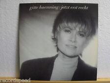 """★★ 12"""" LP - GITTE HAENNING - Jetzt Erst Recht - OIS (Texte) + Booklet"""
