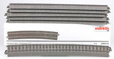 Marklin #24912 C Track Curve for Wide Radius Switches,  New - Box of 6 Pieces