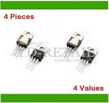 MOSFET Assorted Kit 4-Type of FETs 4-Pieces