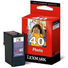 Lexmark 40, no un embalaje original, Refill m. IVA, factura m. IVA.