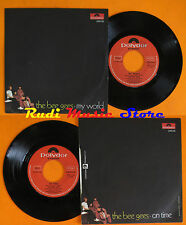 LP 45 7'' THE BEE GEES My world On time 1971 italy POLYDOR 2058 185 cd mc dvd*