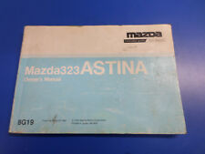Mazda BA Astina Owners Manual S/N#V6524