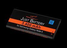 3400 mAh NFC Akku für Samsung SM-N910F Galaxy Note 4 EBBN910BB Accu battery Acku