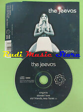 CD Singolo THE JEEVAS VIRGINIA 2002 UK COWCD002 (S16) no mc lp dvd vhs