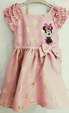NEW MINNIE MOUSE DRESS FRM DISNEY STORE-UK SIZE 4 YRS
