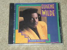 """Eugene Wilde """"I Choose You (Tonight)"""" R&B..Very Rare & Out Of Print Brand New CD"""