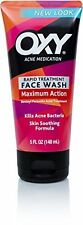 Oxy Acne Medication Maximum Action Face Wash to Kill Acne Bacteria - 5oz Pack 3