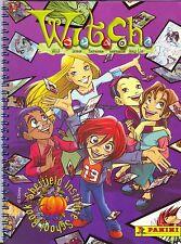 """PANINI: ALBUM FIGURINE """"Witch"""" - COMPLETO 2002 + Poster Pieghevole"""