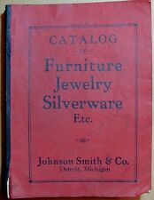 Johnson Smith & Co. Catalog of Furniture Jewelry Silverware Etc. Catalog No. 152