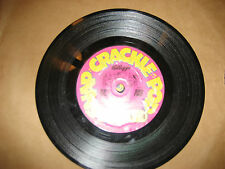 "SNAP CRACKLE POP tunes KELLOGG'S 7"" ROCK & ROLL, WESTERN, NEW WAVE VG++ 1983"