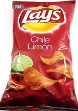 Frito Lays Chile limón Chips (2 bags of 7oz)