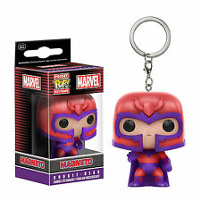 Funko X-Men Pocket POP Magneto Vinyl Figure Keychain NEW Toys Keyring Mutant