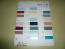 1959 Lincoln Arco Paints Color Chip Paint Sample - Vintage