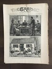 """""""THE GRAPHIC"""" (A Beautifully Illustrated British Weekly Newspaper)-Feb. 19, 1881"""