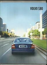 VOLVO S80 (INC. EXECUTIVE) SALES BROCHURE JANUARY 2001