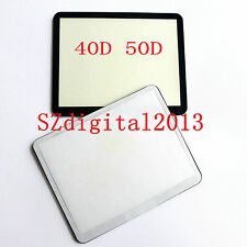 Window Display (Acrylic) Outer Glass For Canon EOS 40D 50D Camera Repair Part