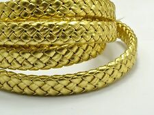 16.4 Feet Flat Braided Bolo Leatherette String Jewel Cord 10X4mm Pick Your Color