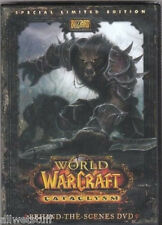 World of Warcraft Cataclysm Behind the Scenes DVD NEW Sealed