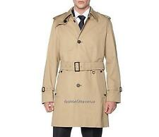 Aquascutum Beige Trench Coat IT54 UK44 XL New